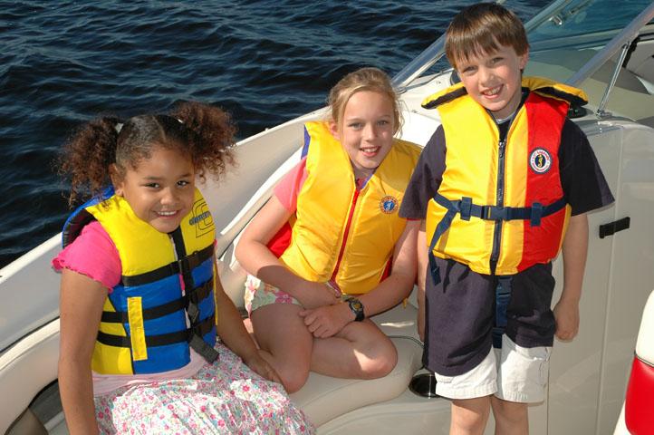 boat safety for kids