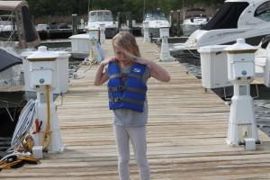 bulky life jacket