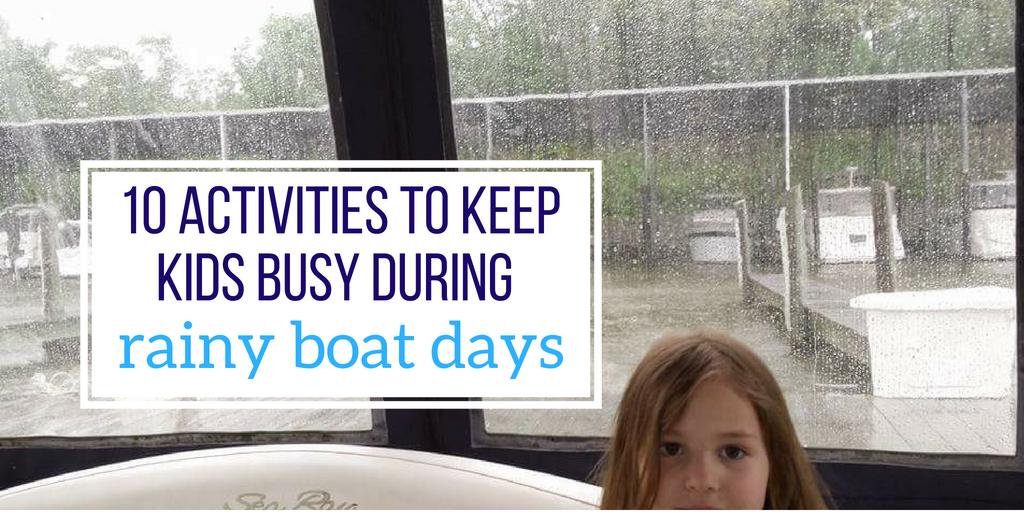 rainy boat days