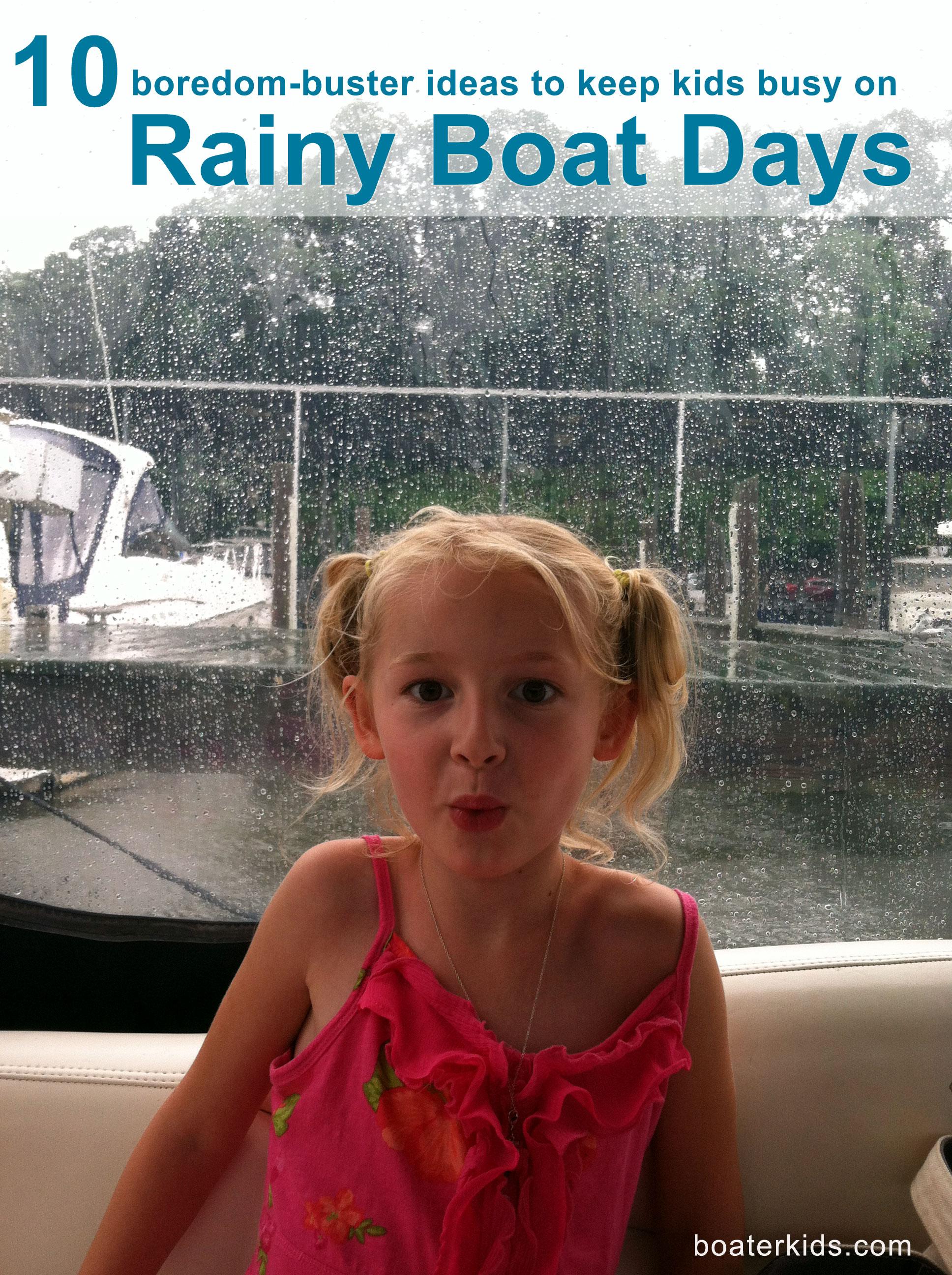 rainy boat day activities