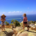 Cruising up the Great Barrier Reef