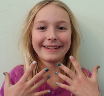 Nautical Nails for Kids