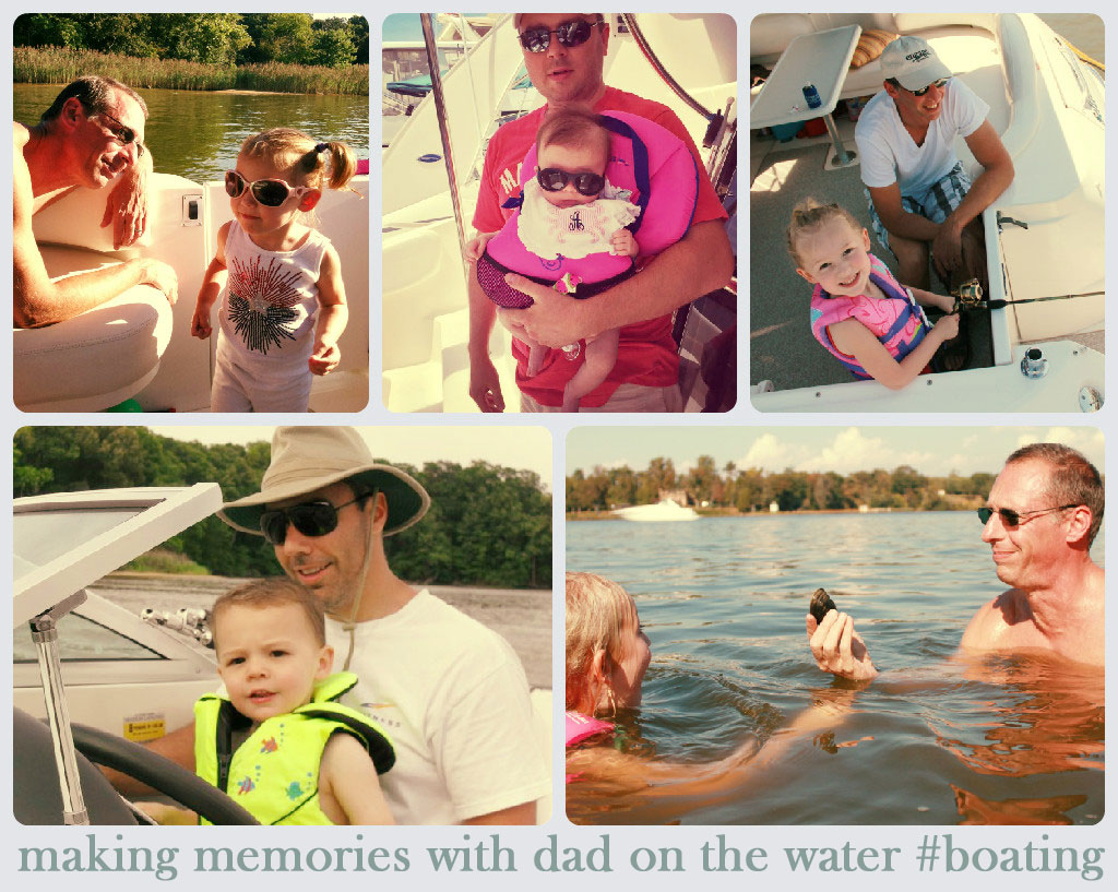 Dad boating memories