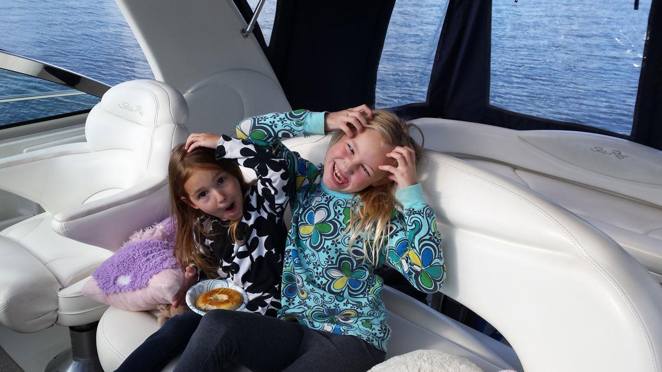 kids boat ride