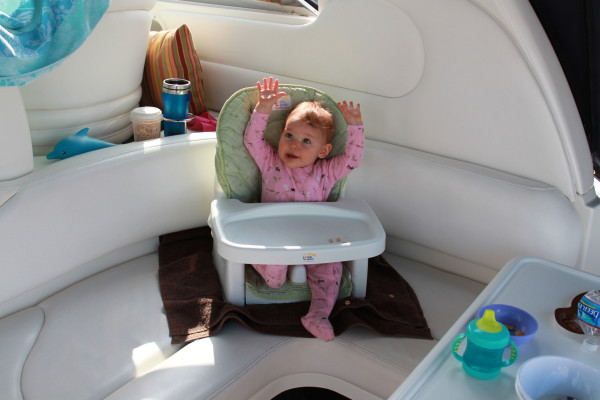 baby booster boat