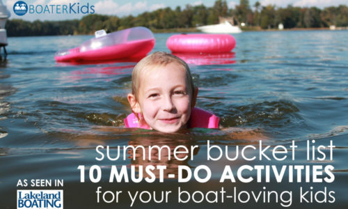 Summer Bucket List for Boat-Loving Kids