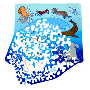 world ocean day puzzle