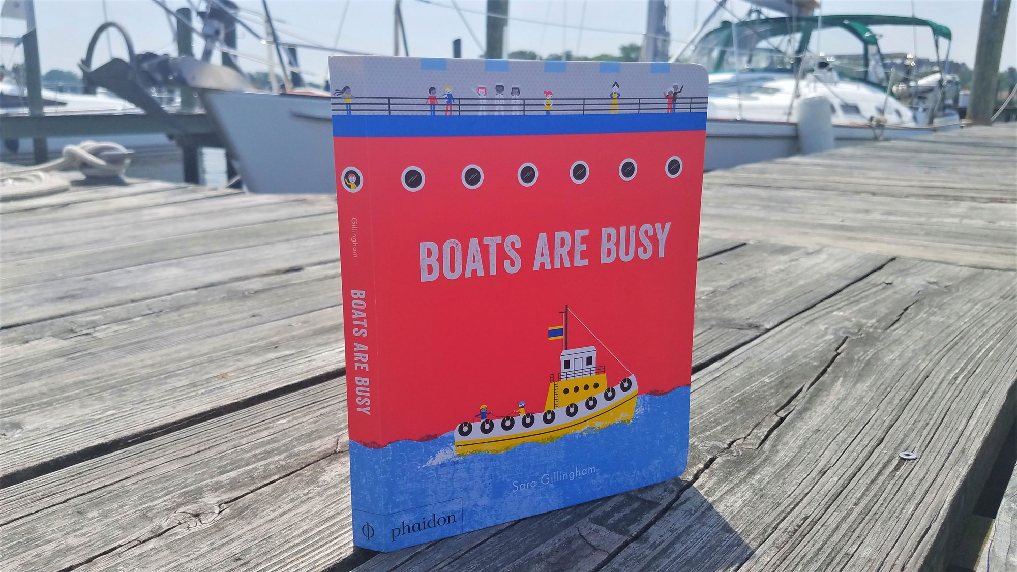 boats are busy book review