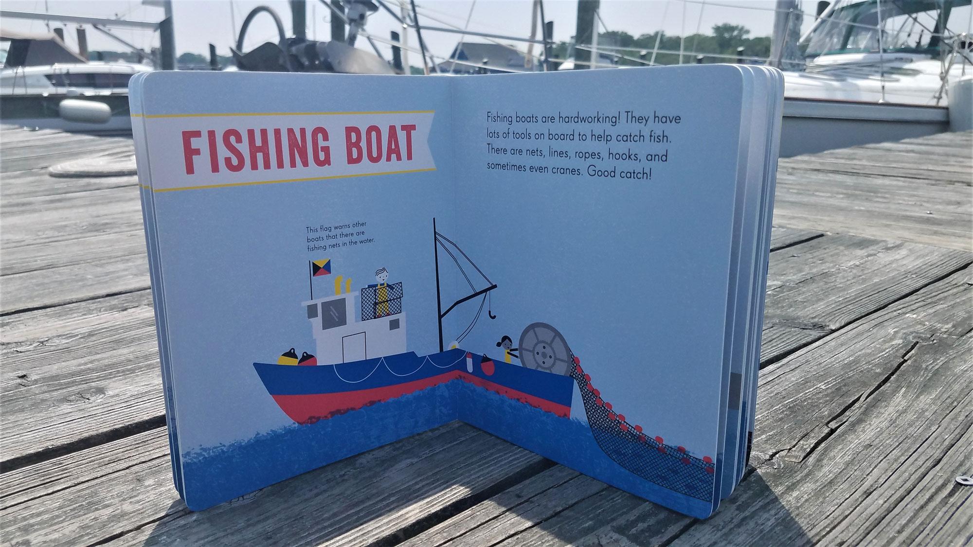 fishing work boat