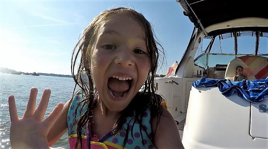 go pro boat fun