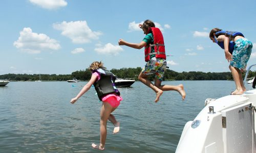 Play Dates for Kids' Friends at the Boat